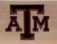 Click to enlarge image Texas A & M University Logo Adirondack Chair -