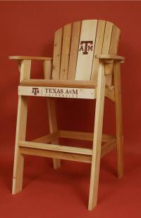 Click to enlarge image Texas A & M University Logo Adirondack Director Chair -